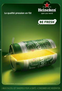 HEINEKEN - Be Fresh