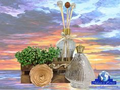 #Fé #NossaSenhora #Flor #madeira #Aromatizador #Cristal #aramado #vidro Acesse http://www.mundodasessencias.com/loja2/index.php/