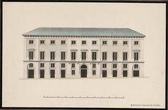 [Alzado de un edificio]. Anónimo español s. XIX — Dibujo — 1800-1899?