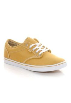 Vans Atwood Low - loving this mustard color for spring / @ShoeCarnival #shoecarnival