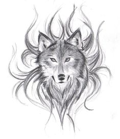 Wolf Drawings   Wolfs Face by ~believennothing on deviantART