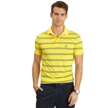 Slim Fit Striped Tech Pique Polo Shirt - Yellow. Get Sizzling discounts up to 50% Off at Nautica using Coupon and Promo Codes.