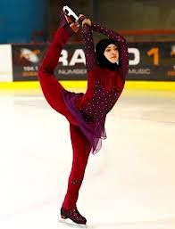 The 17-year-old not only became the first figure skater from the Gulf to compete in an international competition but the first to do so wearing the hijab, an Islamic headscarf. - Buscar con Google