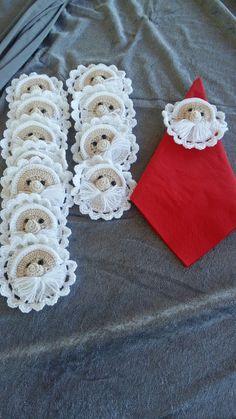 Serviettnisser Napkin Rings, Crochet Earrings, Jewelry, Home Decor, Fashion, Moda, Jewlery, Decoration Home, Jewerly