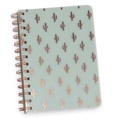 Cuaderno de notas verde CACTUS