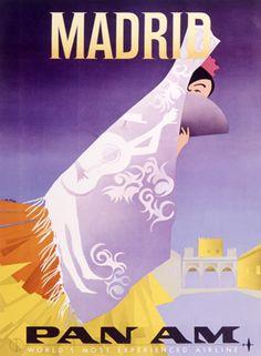 Vintage Spain Travel Posters Gallery 3