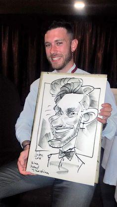 Caricaturas en vivo para bodas y eventos Anton, Caricatures