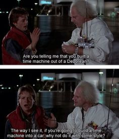 Back to the Future.