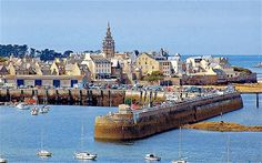 Roscoff, Brittany, France. Must go here while I'm in Britain