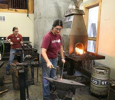 Blacksmithing Building Skills with Susan Hutchinson at the John C. Campbell Folk School | folkschool.org