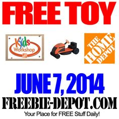 FREE Toy Lawnmower at Home Depot