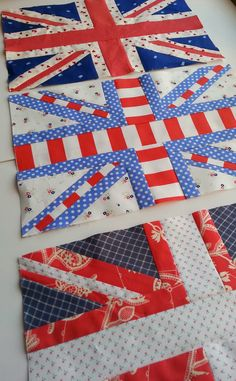 Quilt Story: Union Jack Attack