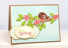 Happy Spring Robin by Lisa Lisa - Cards and Paper Crafts at Splitcoaststampers