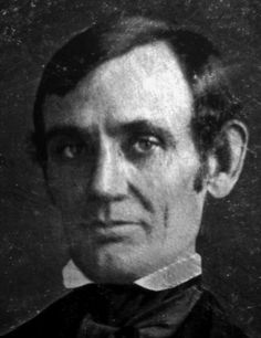 Early photograph of Lincoln from 1846-47.