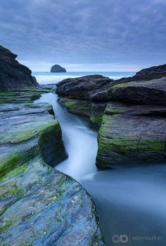 Trebarwith Strand Cornwall, England by Adam Burton - Photo 118682367 - Beautiful Landscape Photography, Landscape Photos, Beautiful Landscapes, Nature Photography, Cornwall England, Yorkshire England, Yorkshire Dales, Places To Travel, Places To See