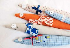 Kendin Yap Blogu: Kumaştan oyuncak balık yapımı