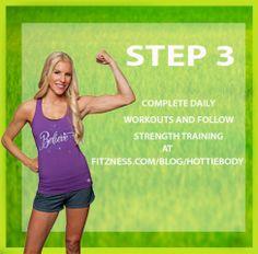 Step 3 #hottiebodyfitnesschallenge #march #fitnesschallenges #repost!