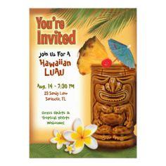817 best luau invitations images on pinterest hawaiian luau luau