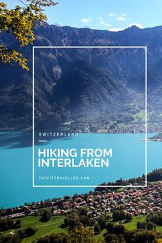 Hiking among the clouds above Interlaken, Switzerland. This guide has everything you need to plan bucket list hikes to Harder Kulm, Roteflue & Jungfrau.