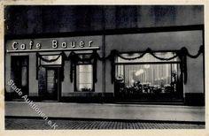 Königsberg Cafe Bauer, Inhaber Max Trampenau