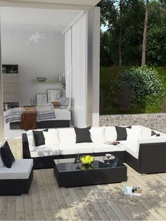 Giada Outdoor Sectional Set (7 PC) - More Colors from Outdoor Style: Our Best Sellers on Gilt