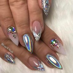 "2,336 Likes, 19 Comments - Vanessa Gisselle Nailz (@vanessanailzfeatures) on Instagram: ""Stunning re creation By the lovely @miritaquiroz ! Using our custom products , link in bio to visit…"""