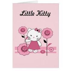 #Little Kitty Card - #giftideas for #kids #babies #children #gifts #giftidea
