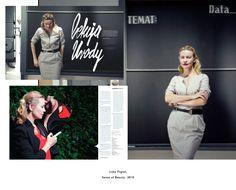 COMMISSIONED : Joanna Szproch    Sense of Beauty | featuring Lidia Popiel