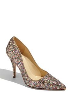 tried these sparkley kate spade shoes on in Nordstrom this weekend....if only I had $340 to spend on shoes!! they are adorable on!