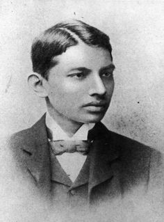 when Gandhi was young