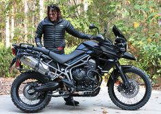 Image result for norman reedus custom triumph tiger motorcycle