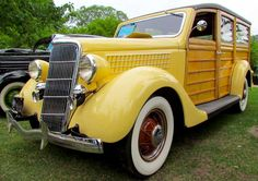 """1935 Ford """"Woody """""""