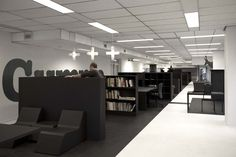 office 03 by i29 interior architects , via Behance