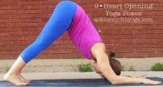9 Heart Opening Yoga Poses: Whether you need a good stretch for your muscles, or need to emotionally open yourself up to new energy, your yoga mat is never a bad tool to roll out! ashleystjohnyoga.com