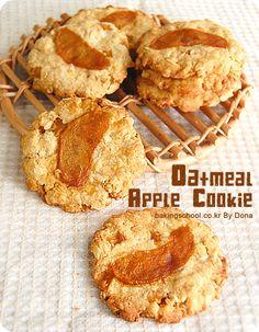 ㆍ오트밀&카라멜 애플 쿠키