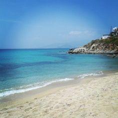 Com todo esse azul, só pode ser Grécia!