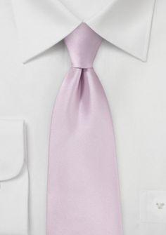Stylische Krawatte rose Kunstfaser