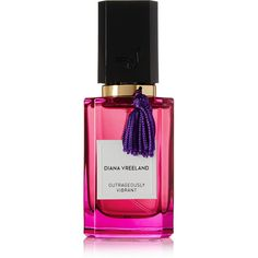 Diana Vreeland Parfums Outrageously Vibrant Eau de Parfum - Cassis,... (€155) ❤ liked on Polyvore featuring beauty products, fragrance, perfume, makeup, beauty, parfum, filler, eau de perfume, perfume fragrance and edp perfume