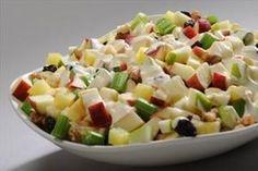 Ensalada Navideña. Prepara esta deliciosa receta y lúcete siempre con LA LECHERA.