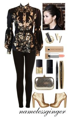 boom boom by namelessginger on Polyvore featuring polyvore fashion style Roberto Cavalli Topshop Christian Louboutin Vivienne Westwood House of Harlow 1960 Noor Fares L'Oréal Paris Marc Jacobs Trish McEvoy NARS Cosmetics clothing