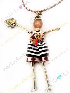 Da Parigi .... la collana con la bambolina! Veramente chic!!!!