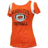 Oklahoma State Football Burnout Tee