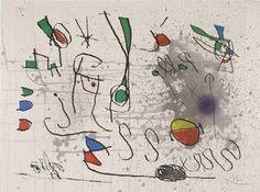 Посвящение Пикассо, 1972, Джоан Миро