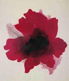 José Maria Sicilia - La luz que se apaga (Flor roja) Art And Illustration, Art Floral, Spanish Painters, Art Object, Botanical Art, Figurative Art, Contemporary Artists, New Art, Printmaking