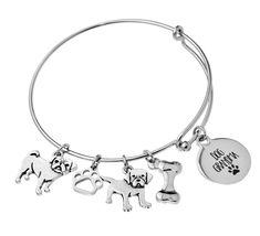Our Dog Grandma bracelet is a unique gift for any dog grandma. Customize the bracelet by selecting breeds. Bangle Bracelets, Bangles, Dog Paws, Laser Engraving, Dog Breeds, Unique Gifts, Dogs, Silver, Jewelry