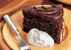 Chocolate Amaretto Cake - So this is the all-time favorite chocolate cake recipe!  Make sure you get good quality Amaretto, like  Disaronno.  A less-sweet, also recommended brand is Luxardo.