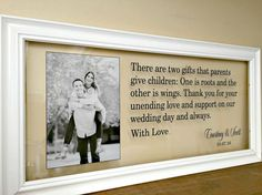 Wedding Gifts for Parents Mother of the Groom by TheBindingTie