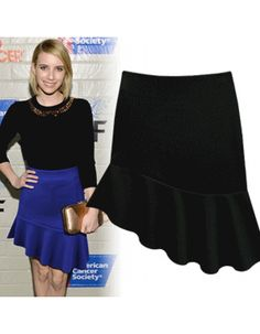 Hollywood Inspired Unbalanced Skirt – One Size [ 10997 ] ✈ Ship Next Working Day ✈ - $33.00 #onselz