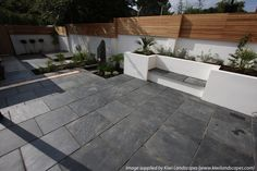 London Stone - Exterior Stone Paving - Slate Paving - Blue/Black Slate Paving