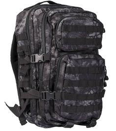 Mil-Tec Rucksack US Assault Pack, groß, Mandra night / mehr Infos auf: www.Guntia-Militaria-Shop.de